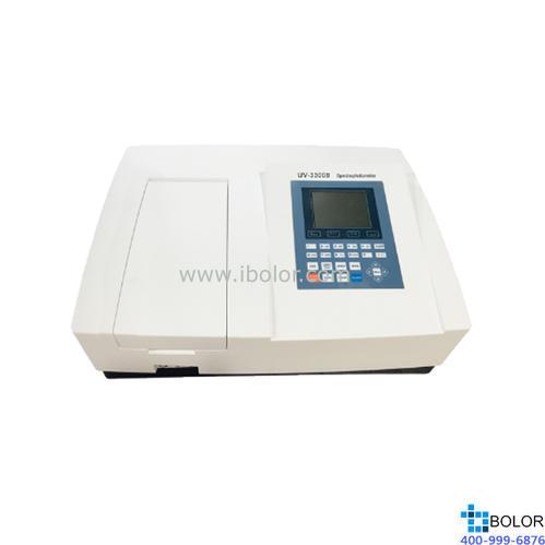 美譜達紫外可見分光光度計UV-3300B 測量范圍:190-1100nm 帶寬:1nm 標配掃描軟件 標配聯機軟件 大屏幕液晶