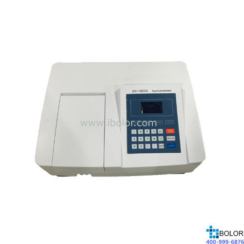 美谱达紫外可见分光光度计UV-1800B 测量范围:190-1100nm 带宽:2nm 选配扫描软件 选配联机软件