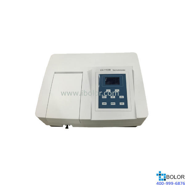 美谱达紫外可见分光光度计UV-1100B 测量范围:200-1000nm 带宽:4nm
