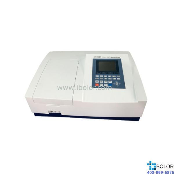 美谱达双光束紫外可见分光光度计UV-6300B 测量范围:190-1100nm 带宽:1nm 标配扫描软件 标配联机软件