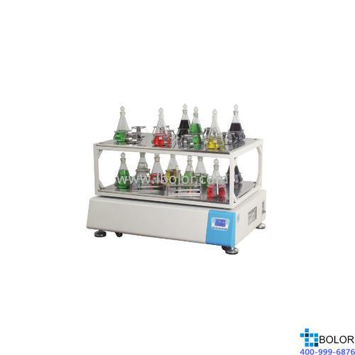 摇瓶机HZQ-3222(双层)摇板尺寸:1020×700mm 摇板数量:2块 振荡频率:40~300rpm 振幅:35mm