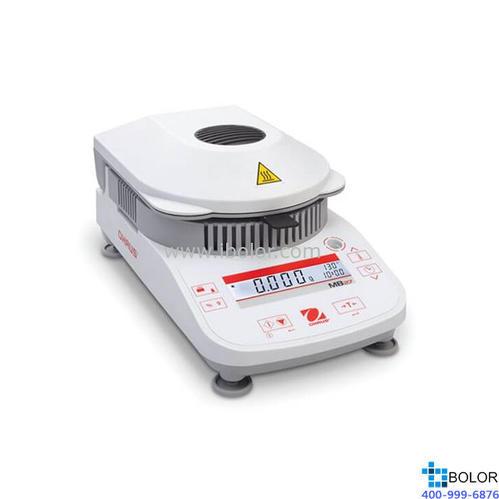 鹵素水分測定儀; MB27;稱量范圍:90g;可讀性(%) :0.01%