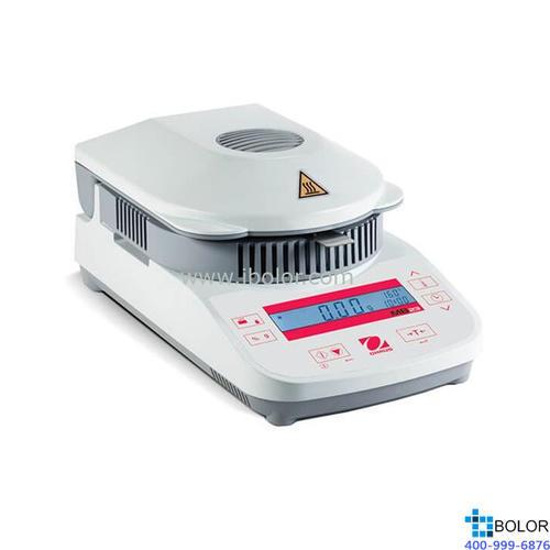 红外加热水分测定仪;可读性:0.1%;称量范围:110g;加热源:红外线;MB23