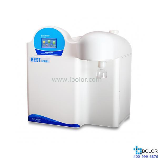 Best-D FV 综合型超纯水机(纯水水源);电阻率:18.25MΩ.cm;TOC:<3ppb 产水量:1.0-2.0L/分钟