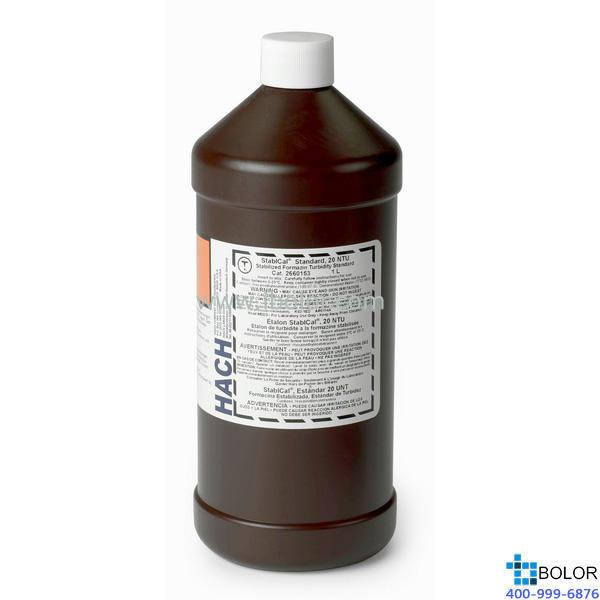 STABLCAL STD,  20 NTU  1000ML HACH/哈希  2660153-CN