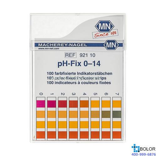 无渗漏pH测试条 测试范围:0-14;适用于弱缓冲溶液和强碱性溶液