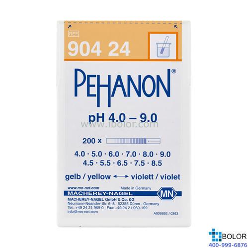 渗漏pH测试条 范围:4.0-9.0;适用于有色溶液 有多种量程选择 MN 90424