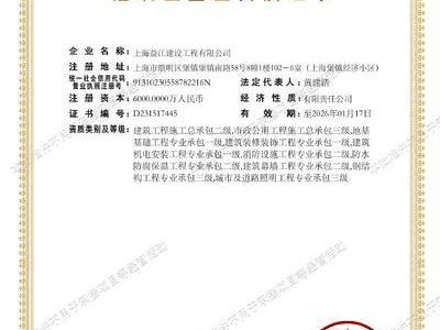 合作单位,资质证书
