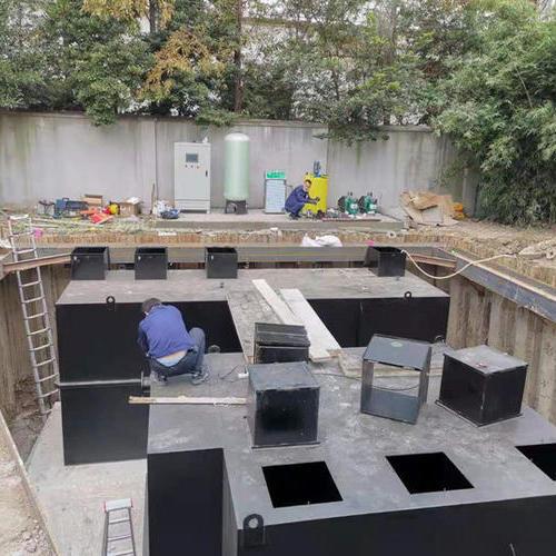 上海宝世威( 中石油)50吨/天生活污水处理设备