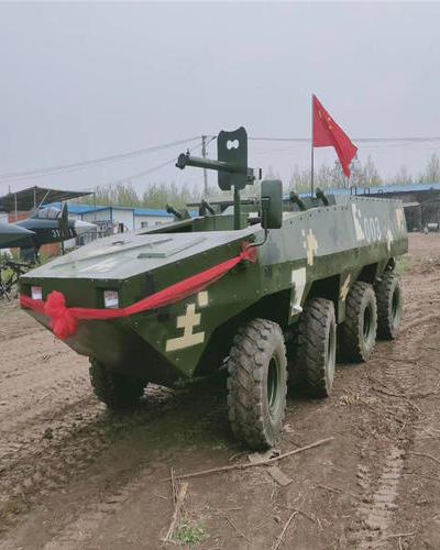 安徽合肥景区内军事模型案例展示