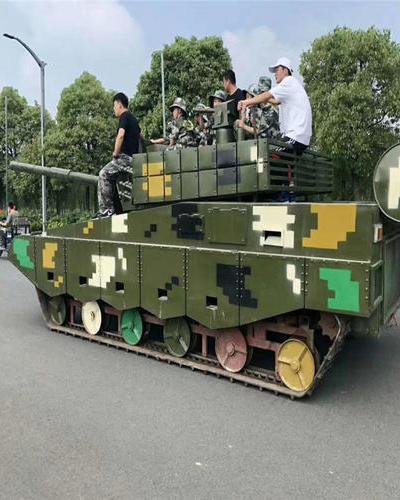 江西南昌景区内军事模型案例展示