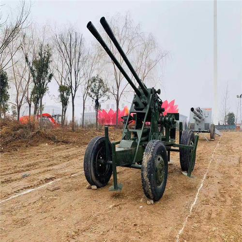 浙江杭州景区内军事模型案例展示