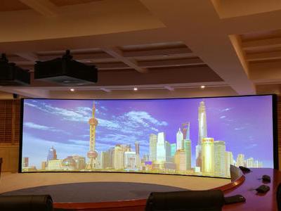 上海地质研究院主动立体融合