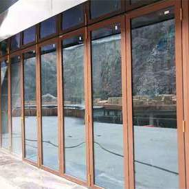 Exterior Folding Accordion Doors heavy-duty folding door