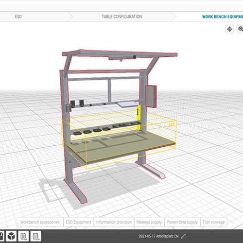 item技术 是什么让防静电工作台的设计如此简单?