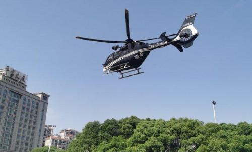 升空!江西首次派应急救援直升机巡查高速公路