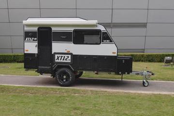 布局巧妙,结构紧凑,名骏XT12HR拖挂房车,双人出行的绝佳选择