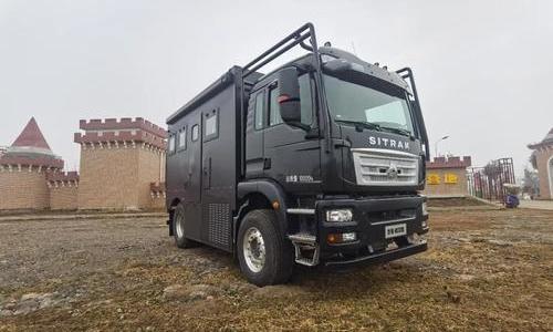 9.24上海房车展:罗曼特斯重卡房车-威尔德来了,3床6座还有高配水电,138W