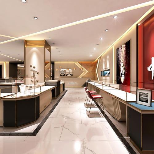 珠宝店珠宝柜台商场专柜设计,专业值得信赖
