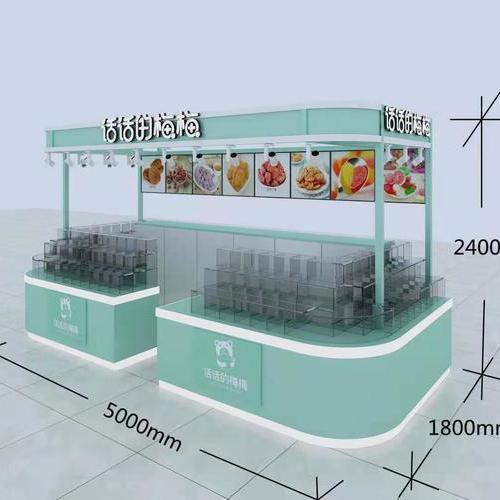 零食店面商场专柜装修设计