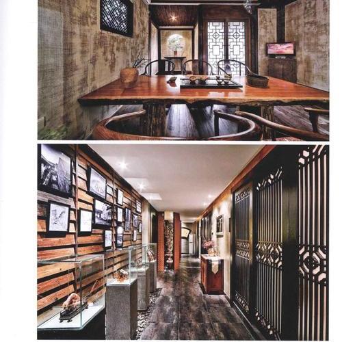 通过当代手法  餐厅装修设计的表现获得了新颖表达