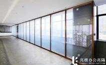 全钢防火玻璃隔断安全性能高