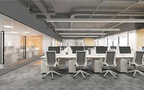 高端精致办公室装修,学会这几点就够了!