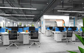 工业风办公室装修风格,视觉冲击强,实力抢镜!