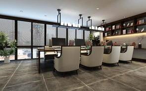 新中式办公楼装修设计,环境好工作就是任性!