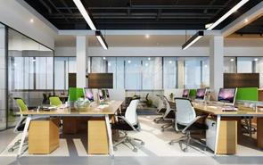 印刷公司办公室这样装修设计更有个性!