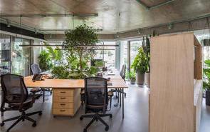 綠色辦公室裝修設計您值得擁有!