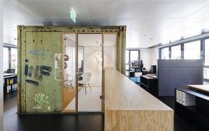 國外時尚的辦公室設計案例,我想在這樣的地方工作!