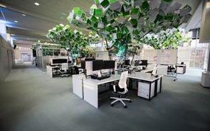 現代科技風格辦公室設計,這也太酷了吧!