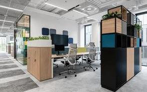 辦公室設計時巧妙應用色彩搭配,讓辦公室更個性!