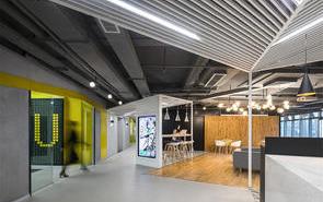 暗黑系創意辦公空間設計,看了一眼就心動了!