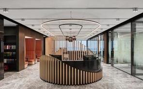 办公楼前厅这样设计,够时尚德甲下注-德甲下注最新官网!