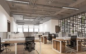 装修知识:办公室装修中几种常用的隔断方式