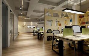 办公室装修中利用隔断巧妙划分空间需考虑这些!