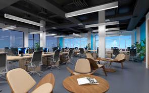 大空间办公室设计装修攻略
