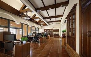 盘点美式风格办公室装修方案
