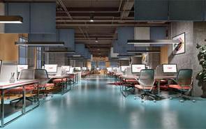 500多平办公室设计案例分享
