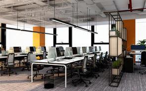 看一看工业风办公室灯光应如何设计?