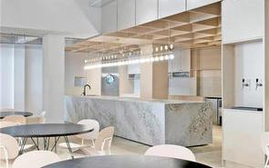 中型办公室茶水区装饰设计