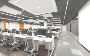 小型办公室装修颜色怎么搭配?