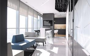 許多年輕人比較喜歡的極簡風辦公室裝修
