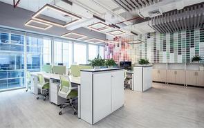 服裝公司辦公室門廳裝修設計
