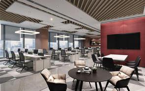 2021年金融類辦公室裝修的流行風格