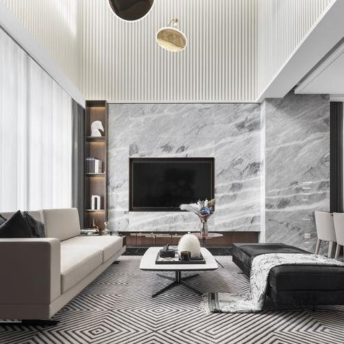 440㎡现代别墅 | 上海(三亚)蓝信空间设计