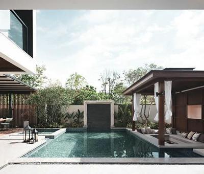 蓝信设计璞悦山别墅 | 上海(三亚)蓝信空间设计
