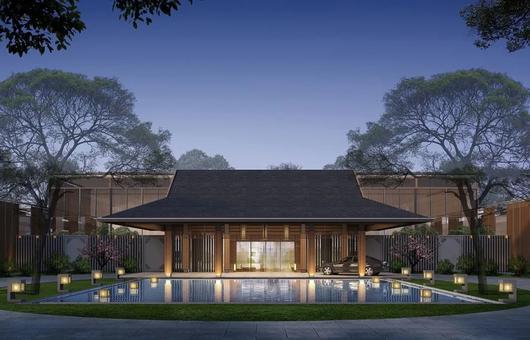 上海松江廣富林希爾頓酒店